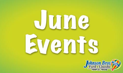 june events near temple johnson bros ford blog. Black Bedroom Furniture Sets. Home Design Ideas